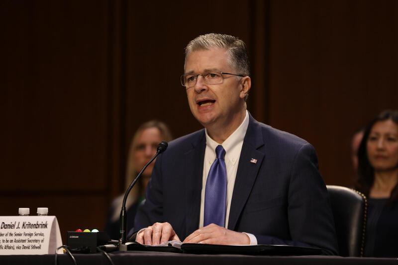 美国国务院亚太助卿提名人康达(前)2021年6月15日在国会听证会上表示,若提名获通过,将进一步发展与民主伙伴台湾的强健关系。