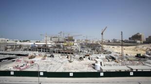 Đất nước Qatar nhỏ bé đang là công trường lớn chuẩn bị cho Cúp bóng đá thế giới 2022