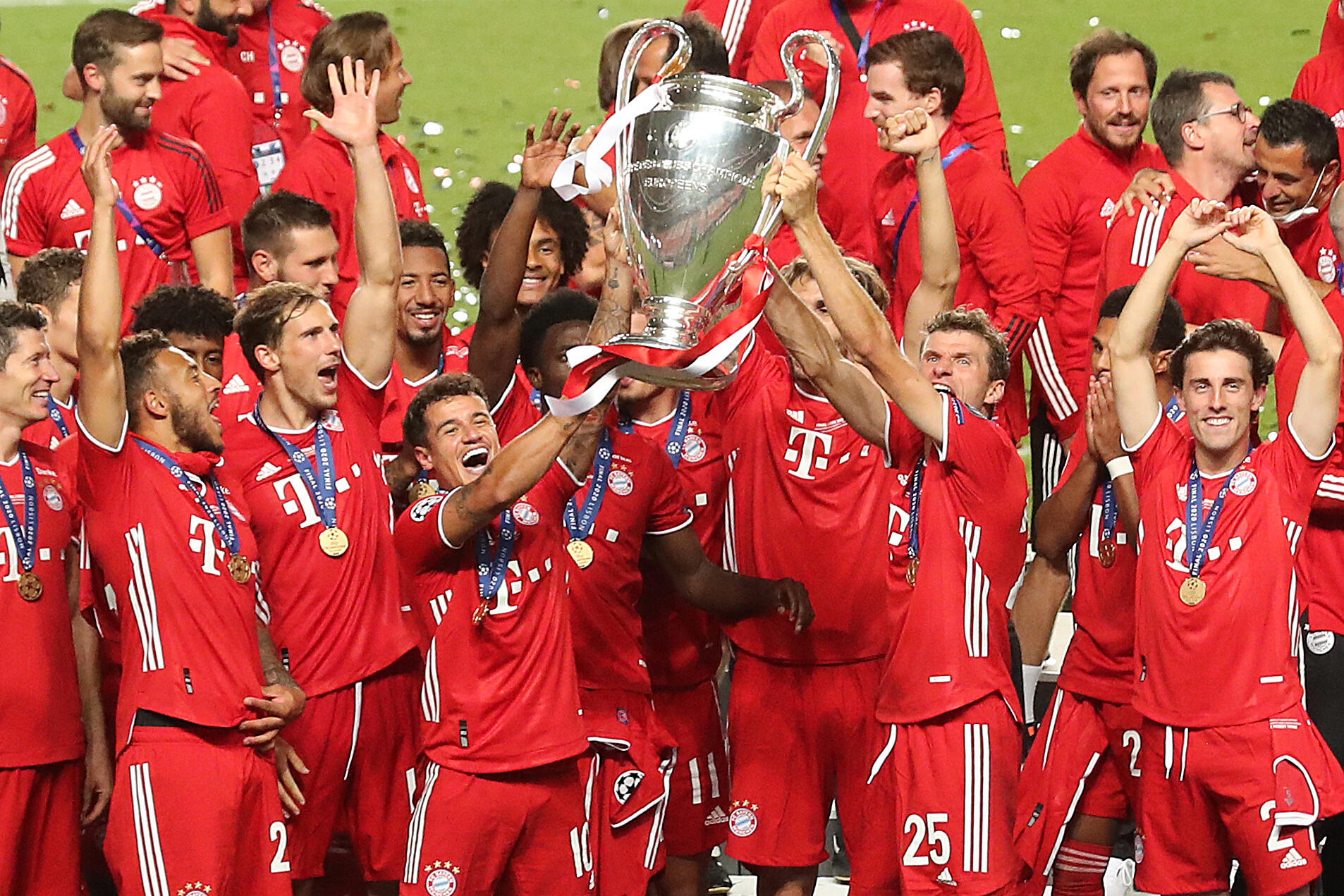 Bayern Munich completed a second treble in seven years after beating PSG 1-0 in the Champions League final in Lisbon