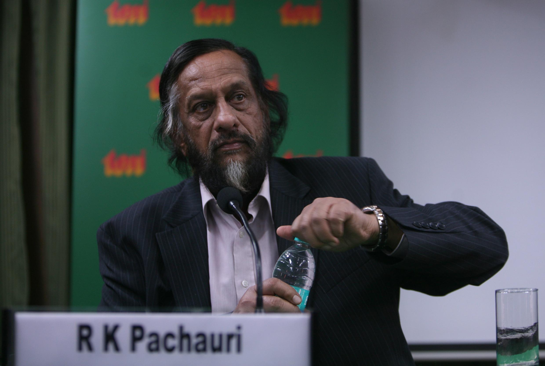 Rajendra Pachauri, Chủ tịch GIEC/IPCC từ năm 2002.