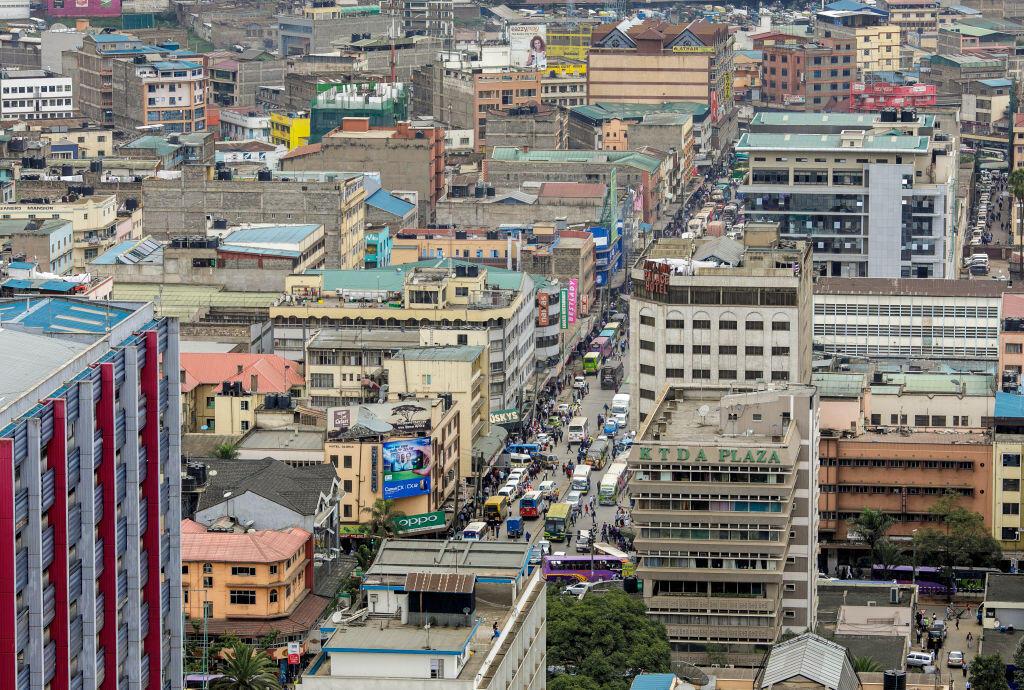 Nairobi, mji mkuu wa Kenya, Mei 15, 2017 (picha ya kumbukumbu).