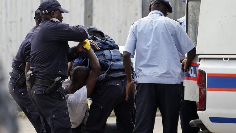 Manifestação de ex-militares angolanos