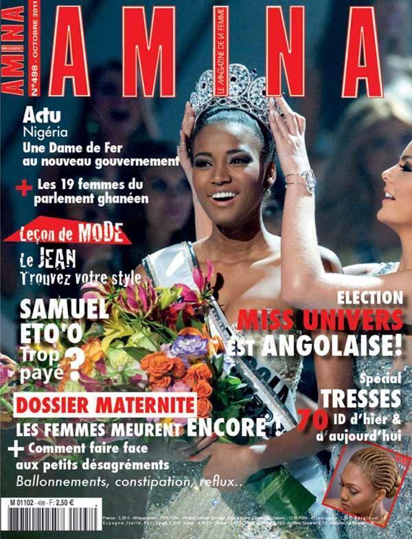 Le magazine mensuel francophone Amina a été créé en 1971.