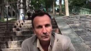 François Xavier Freland auteur du livre « Le Mali, au-delà du jihad » (capture d'écran).