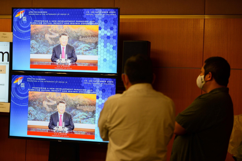 El presidente estadounidense pronunciará un discurso de manera virtual en la cumbre de la APEC, luego del de su homólogo chino Xi Jinping