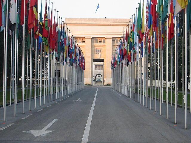 Trụ sở Liên Hiệp Quốc tại Geneve, Thụy Sĩ