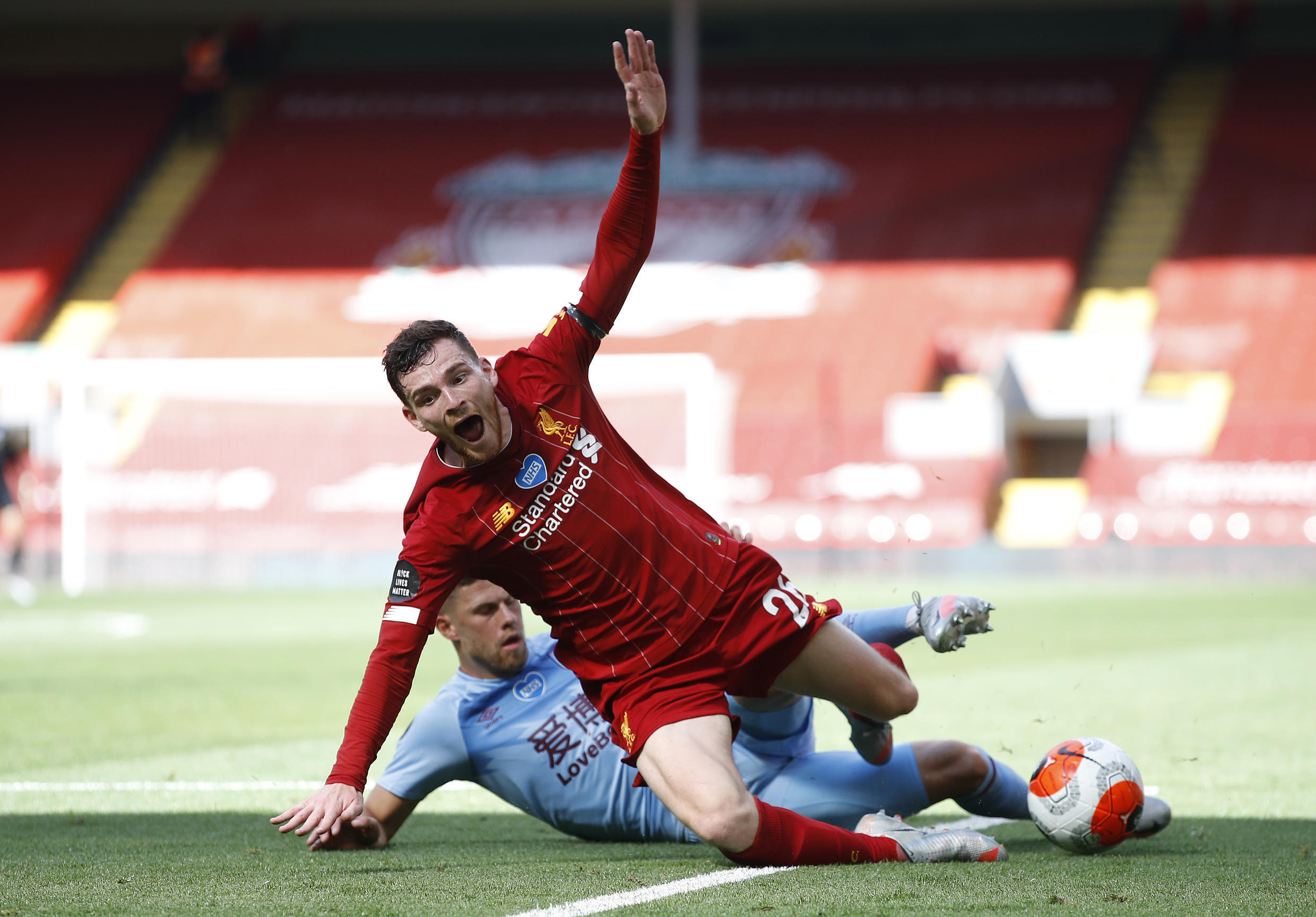 Liverpool were held to a draw by Burnley