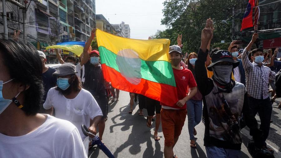 缅甸军方将民族团结政府定性为恐怖组织 缅甸军方将民族团结政府定性为恐怖组织