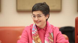 La ministre espagnole des Affaires étrangères et européennes, Arancha Gonzalez Laya, à Madrid, le 20 février 2020.