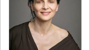 Actriz francesa Juliette Binoche é a presidente do júri dos filmes da competição internacional em Berlim em 2019.