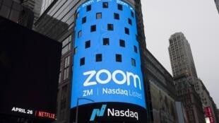 L'action de compagnie Zoom a dégringolé de 17% après l'annonce qu'un vaccin potentiellement efficace contre le Covid-19 a été mis au point par Pfizer ce 9 novembre 2020.