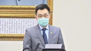 中国国民党主席江启臣资料图片
