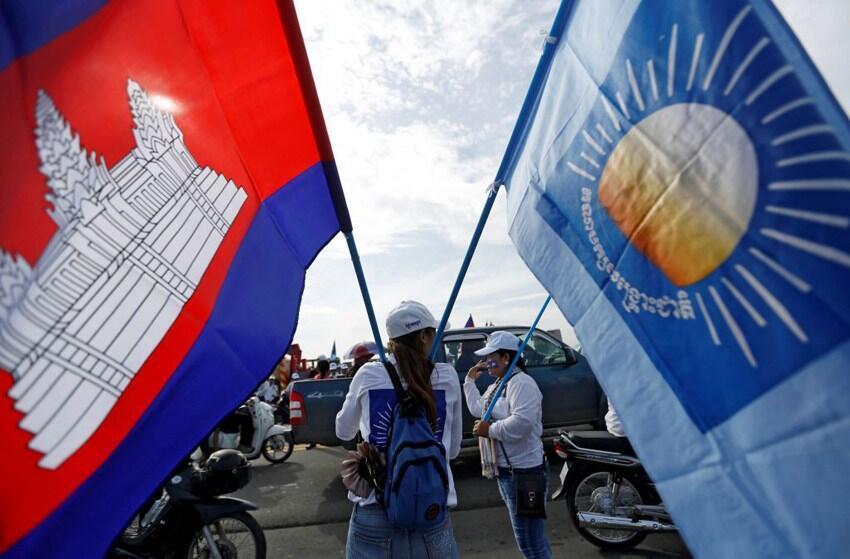 Cambodia-CNRP-rally