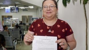 En juillet, la militante équatorienne pour les droits LGBT+ Pamela Troya a obtenu l'autorisation de l'État civil de San Blas d'épouser sa compagne.