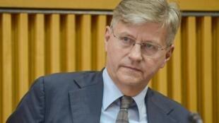 Jean-Pierre Lacroix, secrétaire général adjoint de l'ONU, est en déplacement au Mali, ce 19 janvier 2021.