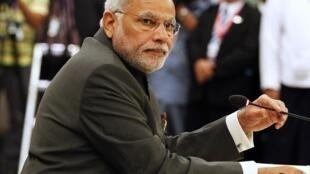 Le Premier ministre Narendra Modi est en visite officielle en France.