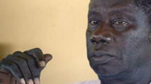 Lansana Conté, le défunt  président guinéen.