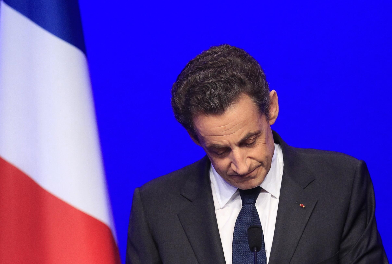 Николя Саркози, Париж, 6 мая 2012 года