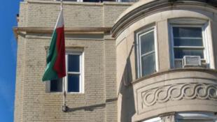 Le bâtiment de l'ambassade de Madagascar à Washington (illustration).