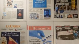 Diários franceses 18 11 2020