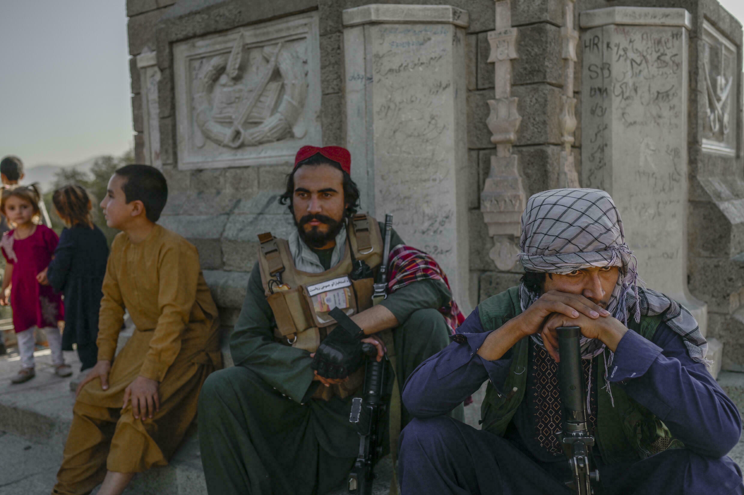 After years of fighting in the countryside, some Taliban fighters got their first visit to the Kabul Zoo