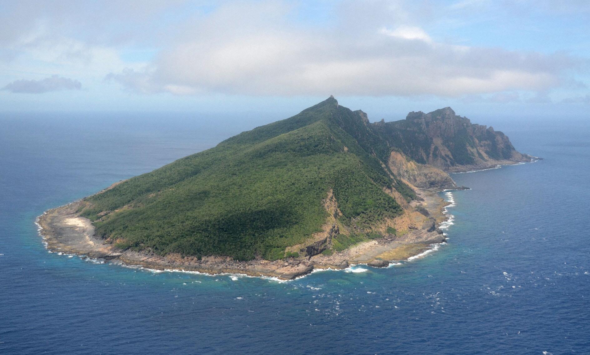 L'île d'Uotsuri fait partie des îles Senkaku / Diaoyu que se disputent le Japon et la Chine.
