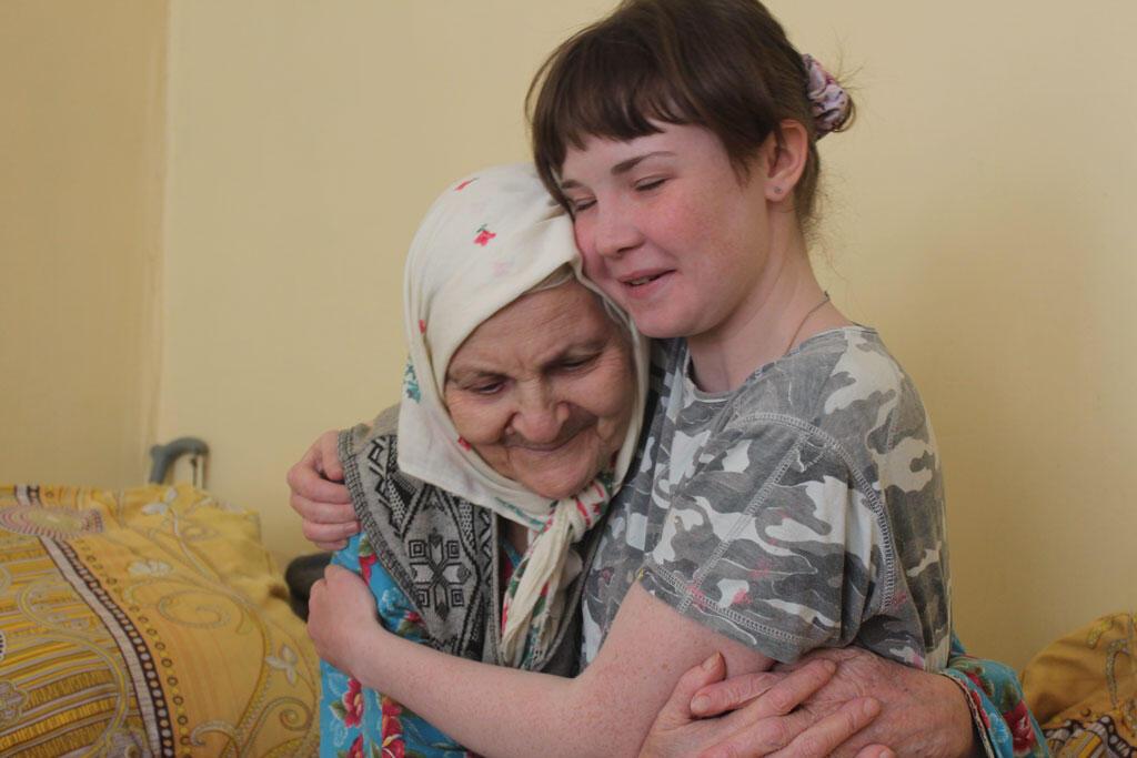 La solidarité entre générations à Beguitchevski.