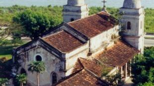 Antiga catedral de Quelimane, Moçambique
