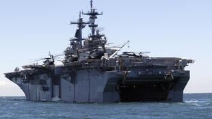 The US Navy's USS Kearsarge