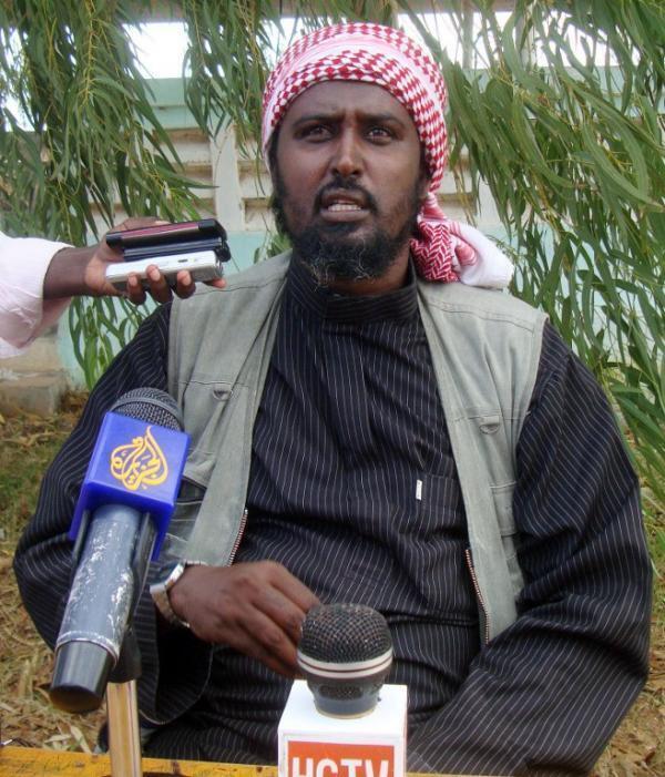 Sheik Ali Mohamud Rage, portavoz de Al Shabab