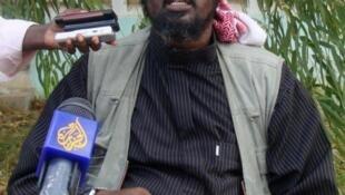 Sheik Ali Mohamud Rage, porta-voz do grupo Al-Shebab.