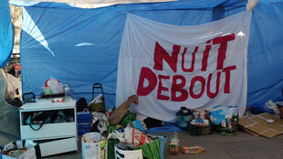 Le mouvement citoyen apolitique et sans leadership Nuit debout a rassemblé des milliers de Franciliens place de la République à Paris et partout en France pendant des semaines.