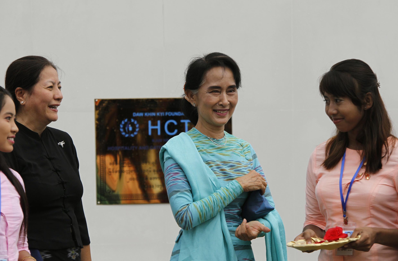 Đảng Liên đoàn Quốc gia vì Dân chủ của bà Aung San Suu Kyi có khả năng sẽ giành thắng lợi trong kỳ bầu cử lập pháp 2015.