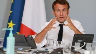 Le président français Emmanuel Macron (notre photo d'illustration) n'hésite pas à consulter des personnalités estampillées «populistes».