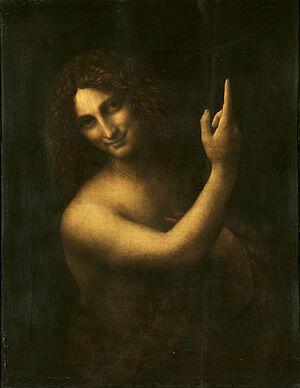 «Святой Иоанн Креститель» Леонардо да Винчи
