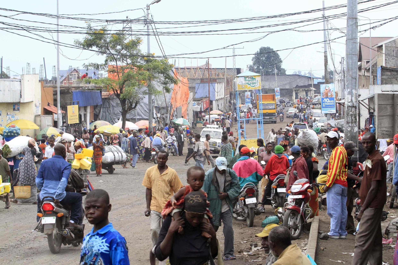 La ville de Goma, à l'est de la République démocratique du Congo.