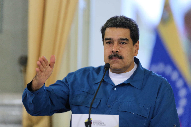 Tổng thống Nicolas Maduro tại Caracas- Venezuela, ngày 13/02/2019.
