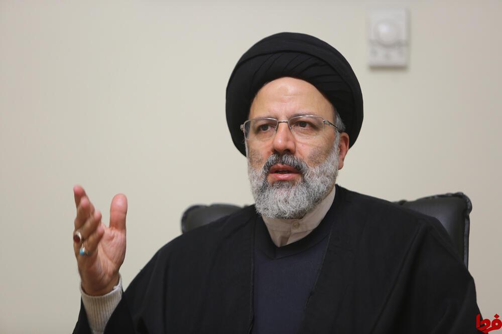 ابراهیم رئیسی،رئیس قوۀ قضائیه جمهوری اسلامی ایران.