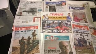 Diários franceses 22/10/2014