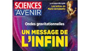 Couverture de Science et Avenir du mois de mars