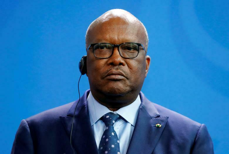 Shugaban Burkina Faso Roch Marc Christian Kabore