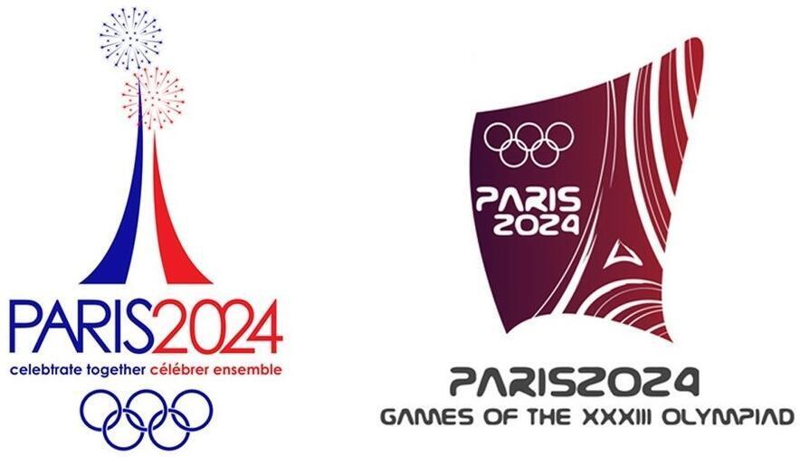 Logo Paris Olympic 2024.