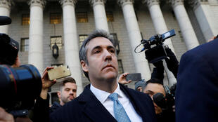 Michael Cohen exits Federal Court after entering a guilty plea in Manhattan, New York City, U.S., November 29, 2018.