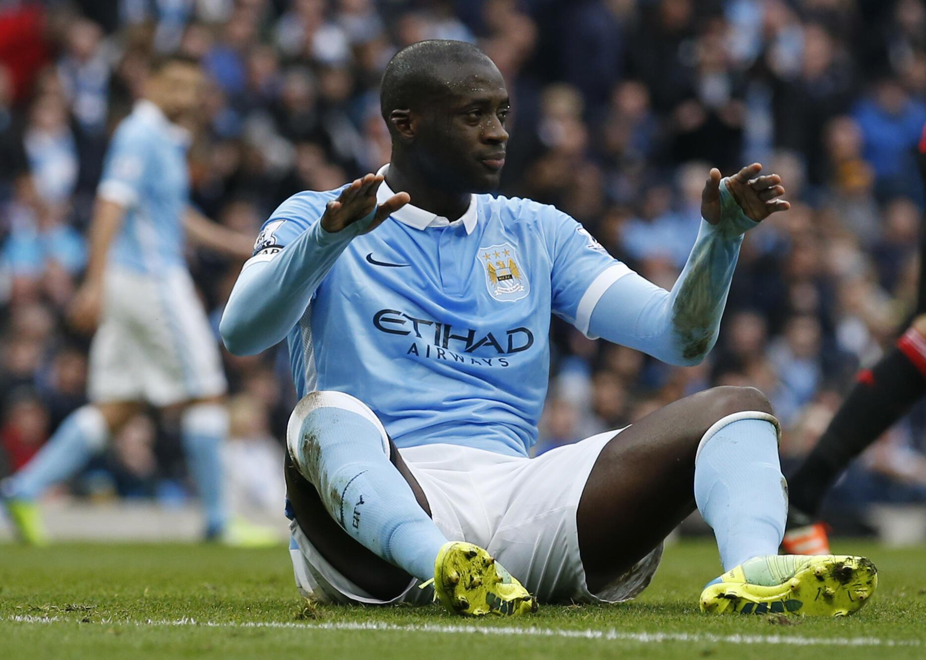 Tsohon dan wasan Manchester City Yaya Touré.