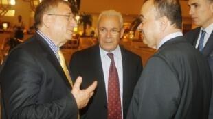 В кулуарах встречи сирийской оппозиции и ЛАГ в Дохе 08/11/2012