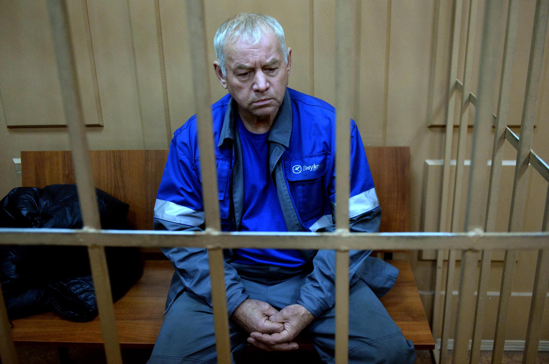 Vladimir Martynenko, o motorista do caminhão limpa-neve implicado no acidente que matou o presidente do grupo Total.