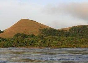 Le Parc National de la Lopé au Gabon.