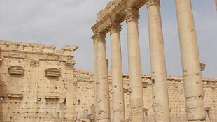 Vista de Palmira, en Siria. Monumentos históricos milenarios fueron dinamitados por los terroristas del llamado Estado Islámico.