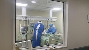 L'unité de soin intensif de l'hôpital universitaire Rafic Hariri de Beyrouth.
