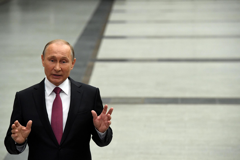 Vladmir Putin  Shugaban kasar Rasha